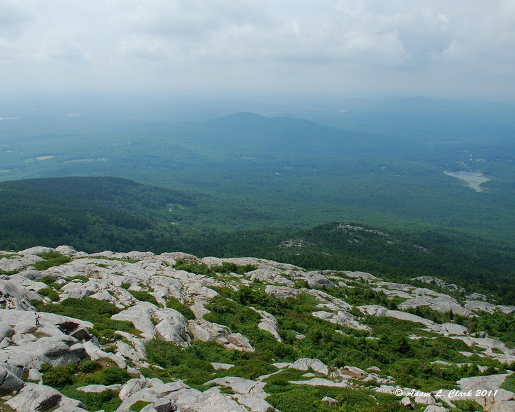 View South from the summit