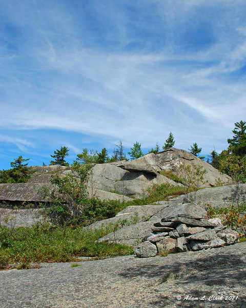 Nearing the top of the Marian Trail