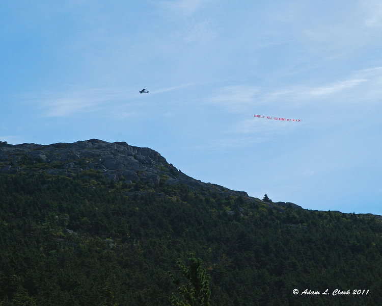 This plane did probably 10 or more loops around the summit