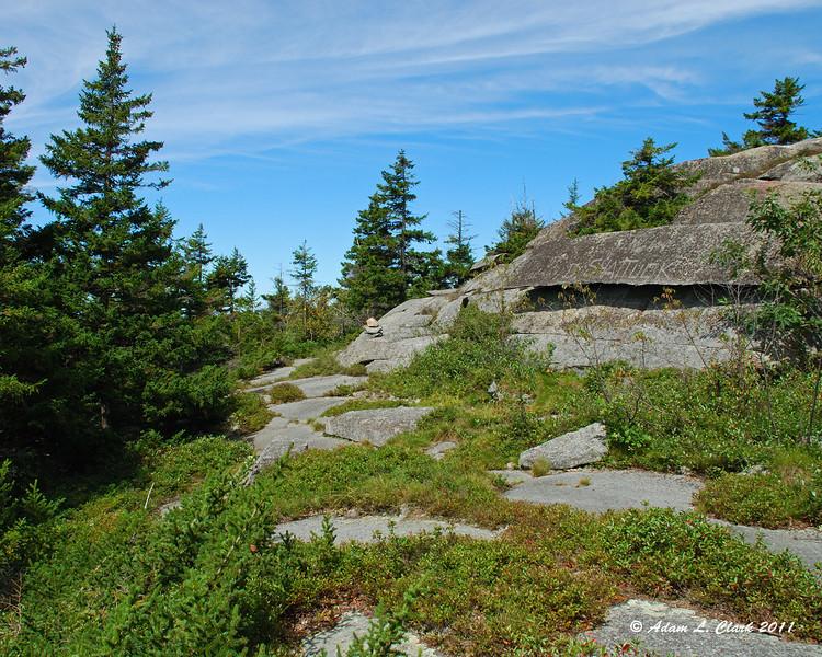 Nearing the Marlboro Trail along the Marian Trail