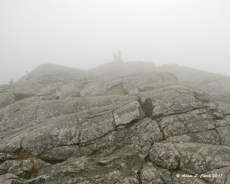 Other hikers on the summit