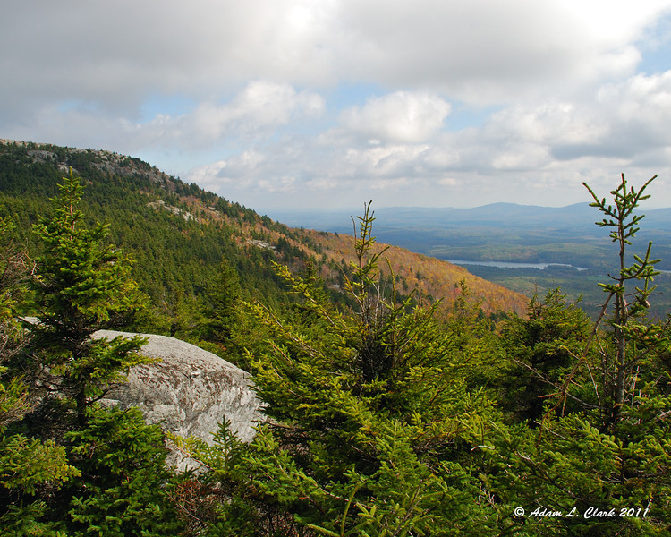 Looking East from Bald Rock