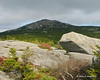The summit just out of the clouds from Bald Rock