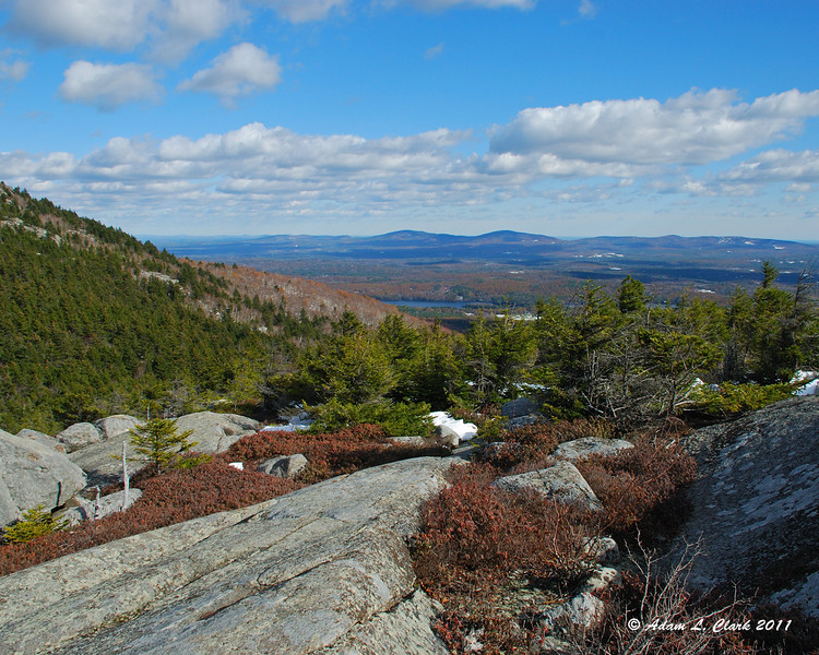 View East from Bald Rock