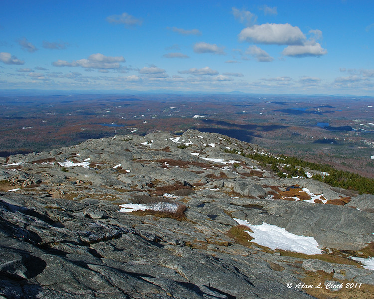 View Northwest from the summit