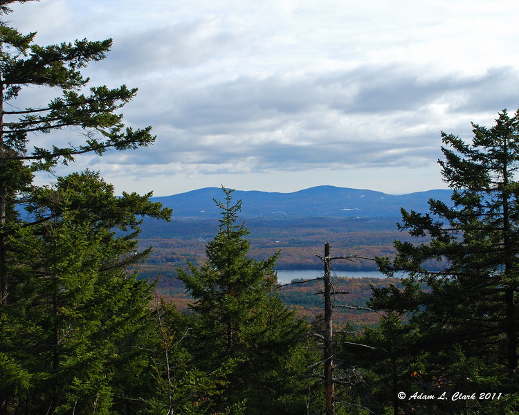 View to Pack Monadnock and North Pack