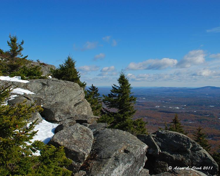 View Northeast near Townline Peak