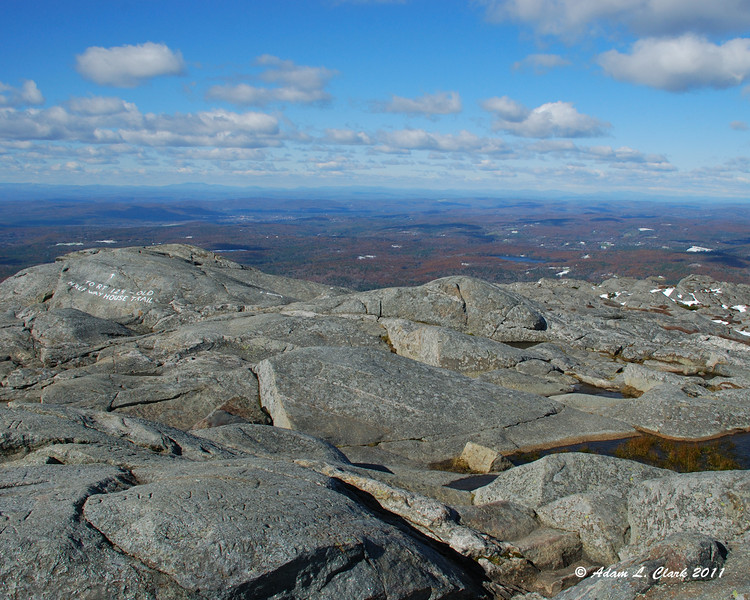 View West from the summit