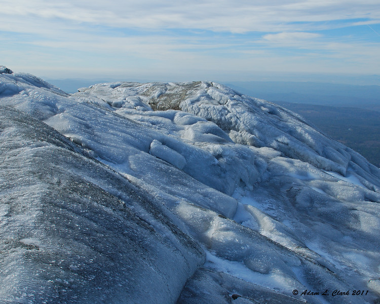 The iced up summit