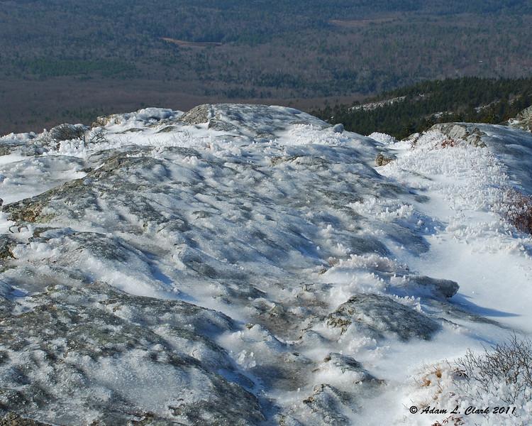 Plenty of ice above treeline