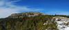 Panoramic view of the summit