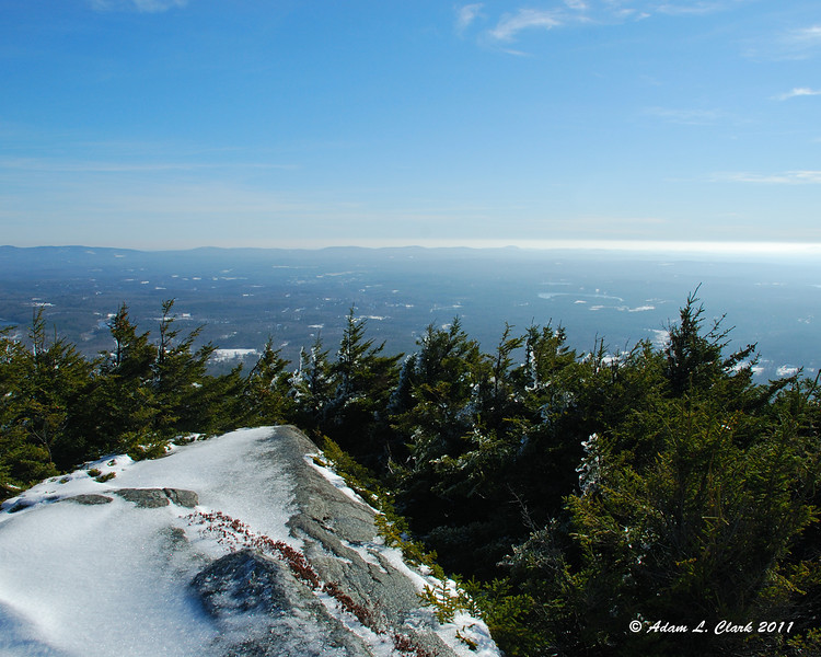 View Southeast from Bald Rock