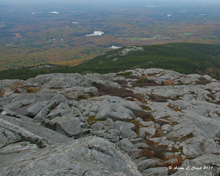 View South over Bald Rock