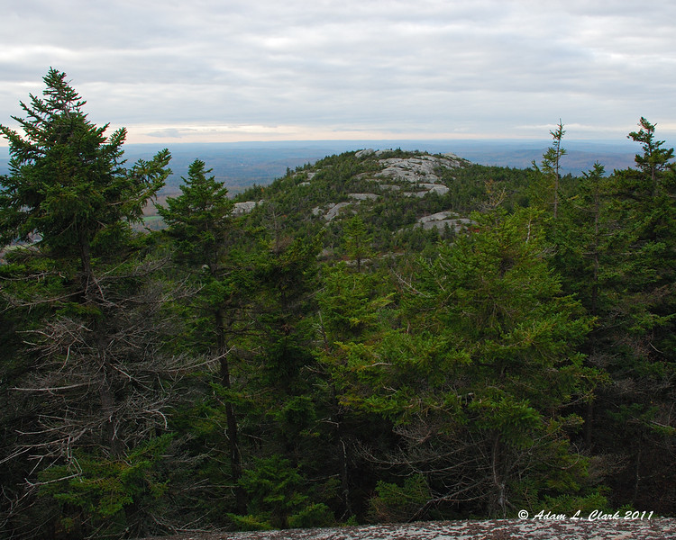 Bald Rock from Inspiration Rock