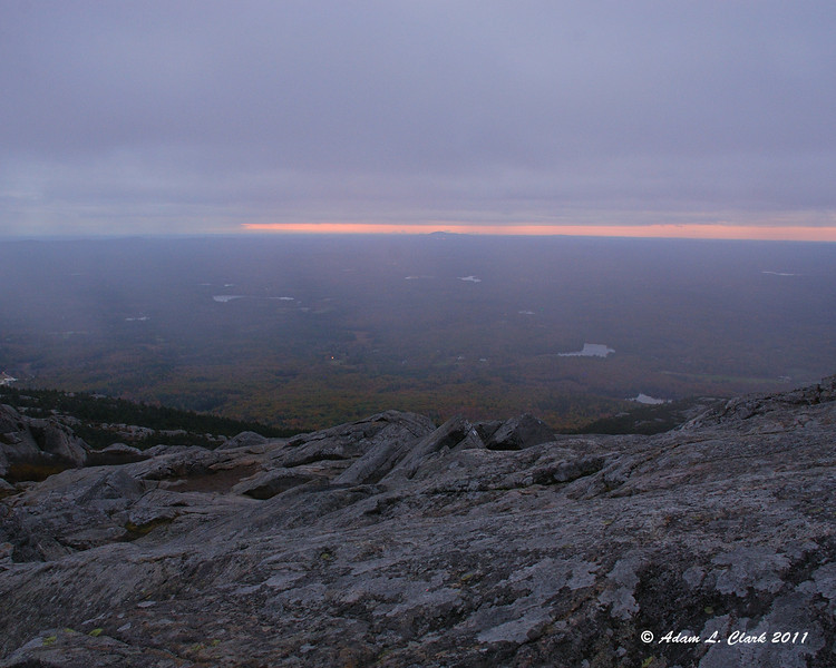 View South before sunrise