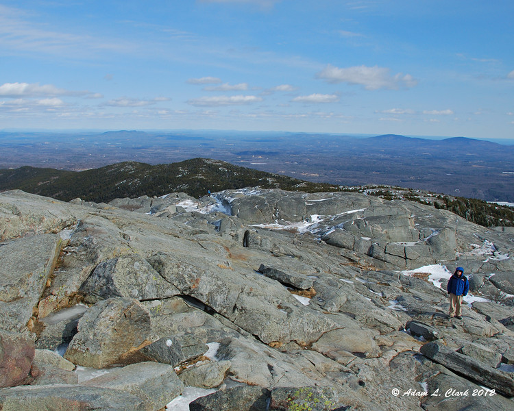 Looking northeast from the summit