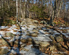 There were some patches of ice down low, but not bad considering it is February