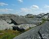 Open rocks near the summit