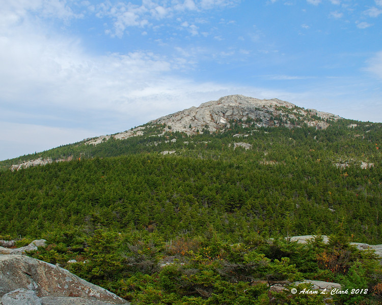 View of the summit from Bald Rock