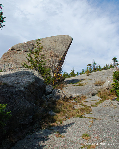 The Tooth at the top of the Smith Bypass Trail