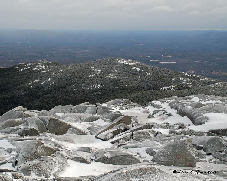 Townline Peak along the Pumpelly Ridge