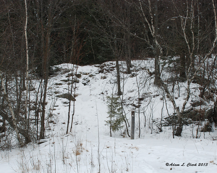 The start to the Sidefoot Trail