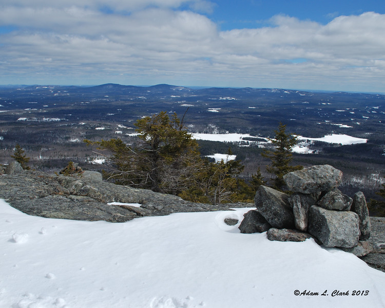 The views increase as you get higher up the trail and closer to treeline