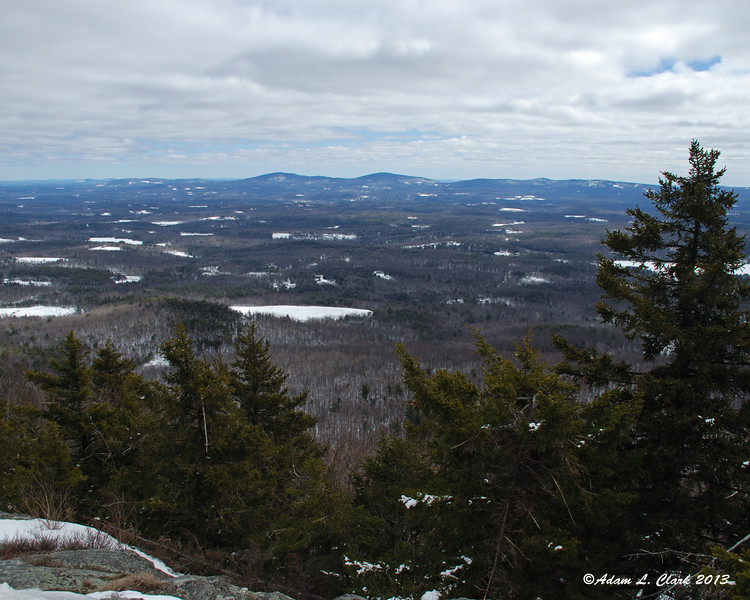 View to the northeast towards Pack Monadnock
