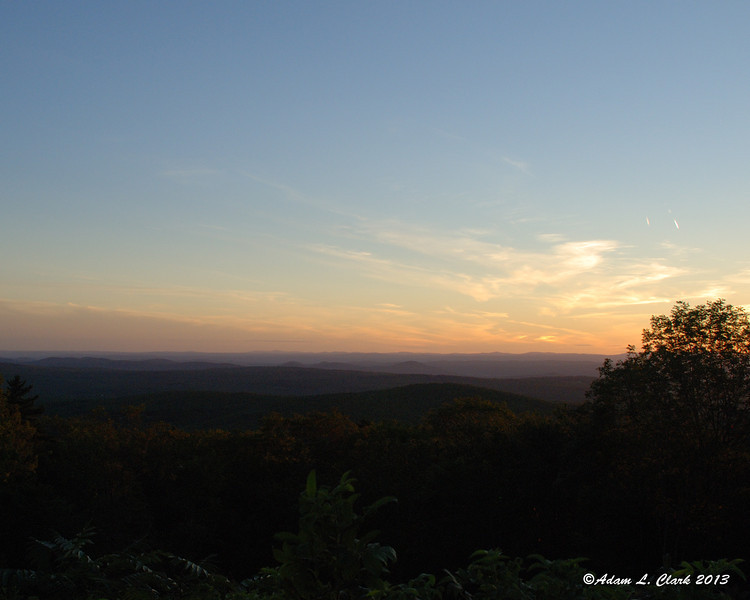 By the time we hiked down to the Old Halfway House Site, the sun was almost ready to set