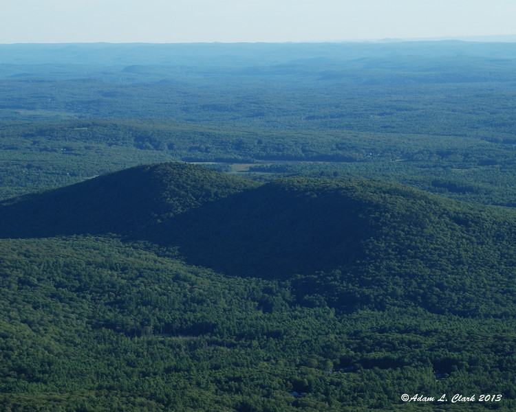 Gap Mountain to the south