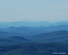 It was a little hazy, but you could still make out Franconia Ridge 93 miles away