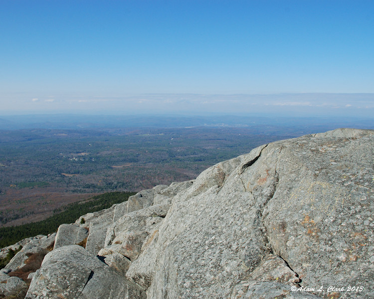 Keene can be seen to the west
