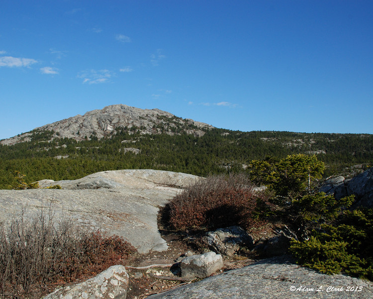 The summit from Bald Rock