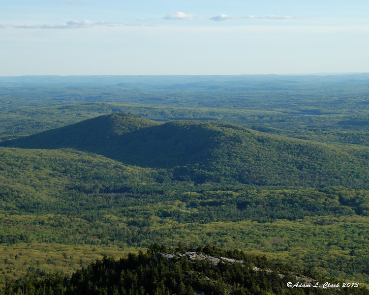 A closer look at Gap Mountain