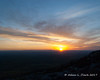 Sunset from just below the summit