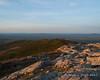 Pumpelly Ridge as sunset nears