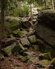 A short rocky climb