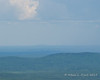 Although it was a little hazy, you could make out Boston from the summit