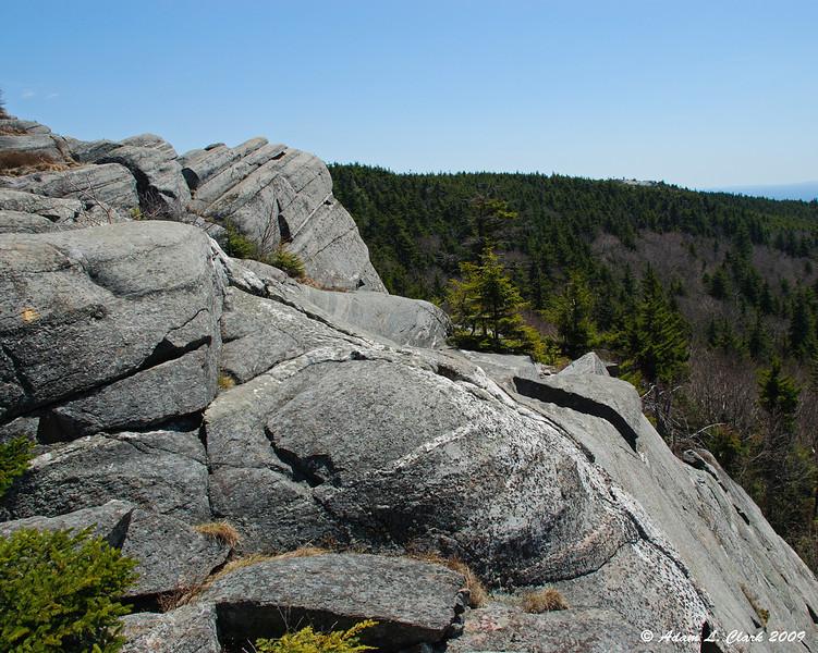Black Precipice<br /> <br /> View of the top.