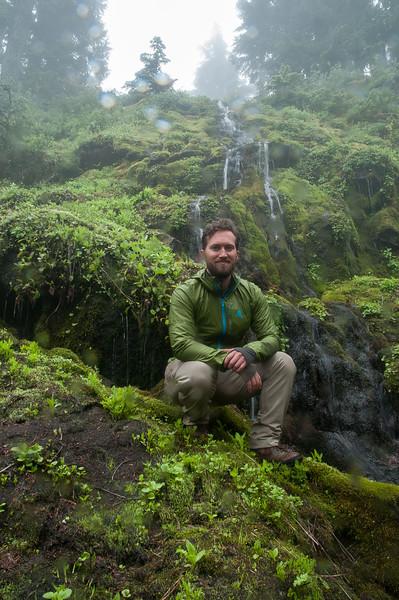 MDW Sunday day hike up Marmot Creek  - Mt. Rainier backpack  - 10