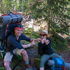 117 - MDW Dick Creek Camp 1,000' gain in 1 mile - hike up to Mystic Lake Camp - Mt. Rainier backpack - 23