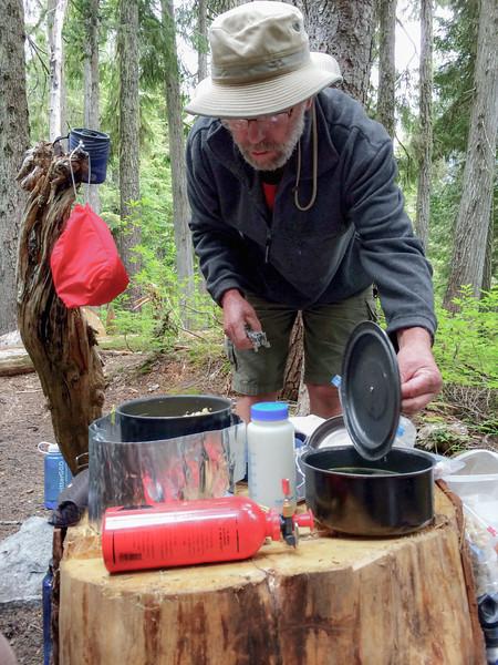 SML Cataract Valley Camp - Mt. Rainier backpack  - 1