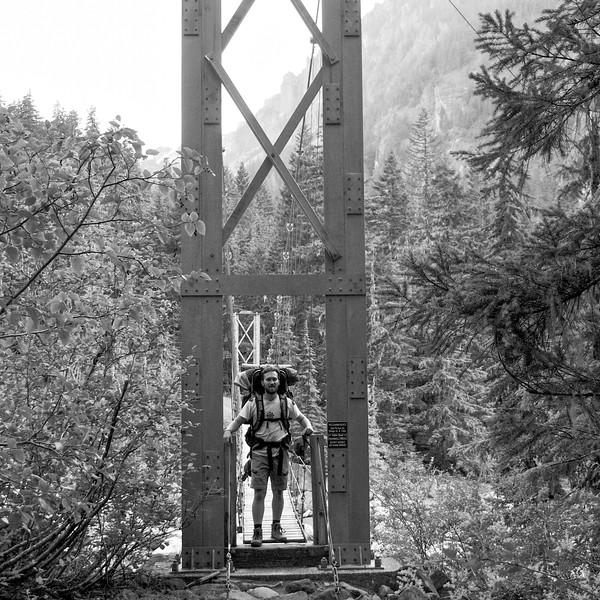 DLW Carbon River Trail - Mt. Rainier backpack