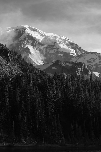 HWW Liberty Ridge Mystic Lake view - Mt. Rainier backpack - 15