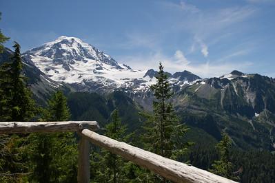 Mt Rainier from Overlook