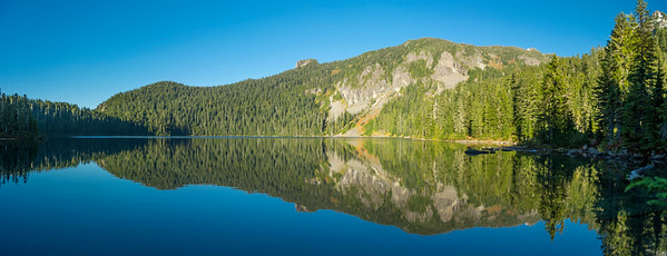 Mowich Lake Reflection