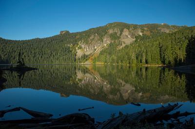 Mowich Lake reflection