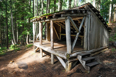 Hiker Shelter at Lake George