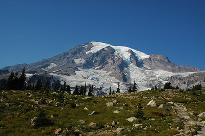 Glacier Vista Trail Rest Stop