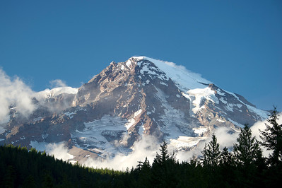 Mt Rainier from Longmire
